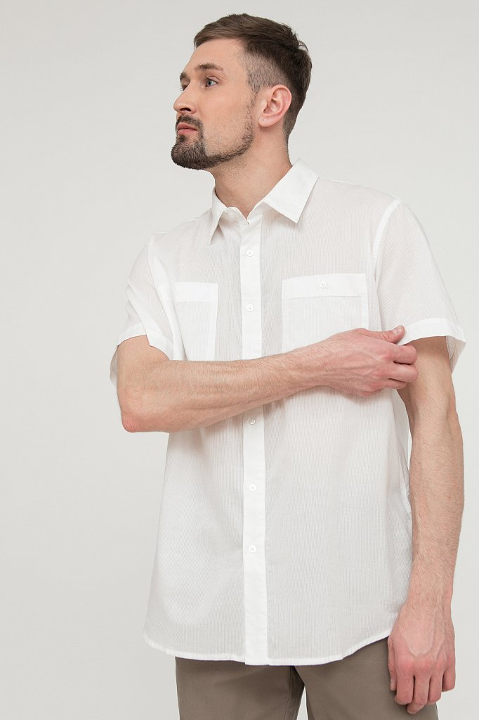 Рубашка мужская, Модель S20-24013, Фото №3