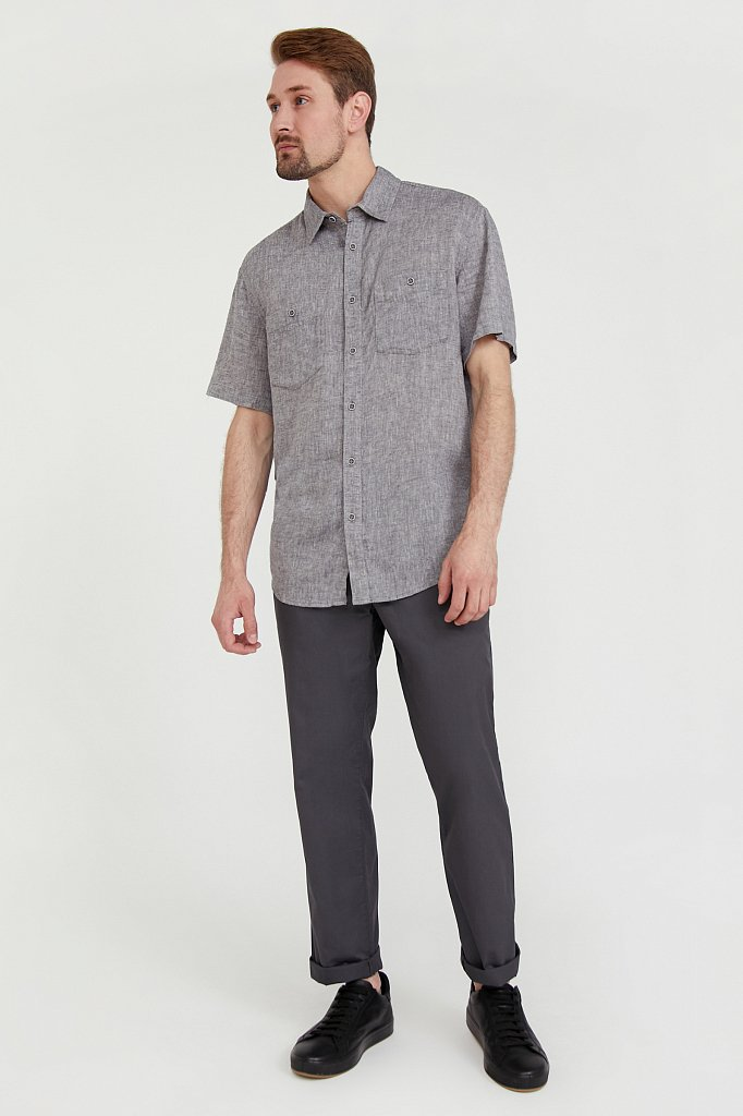 Рубашка мужская, Модель S20-22019, Фото №1