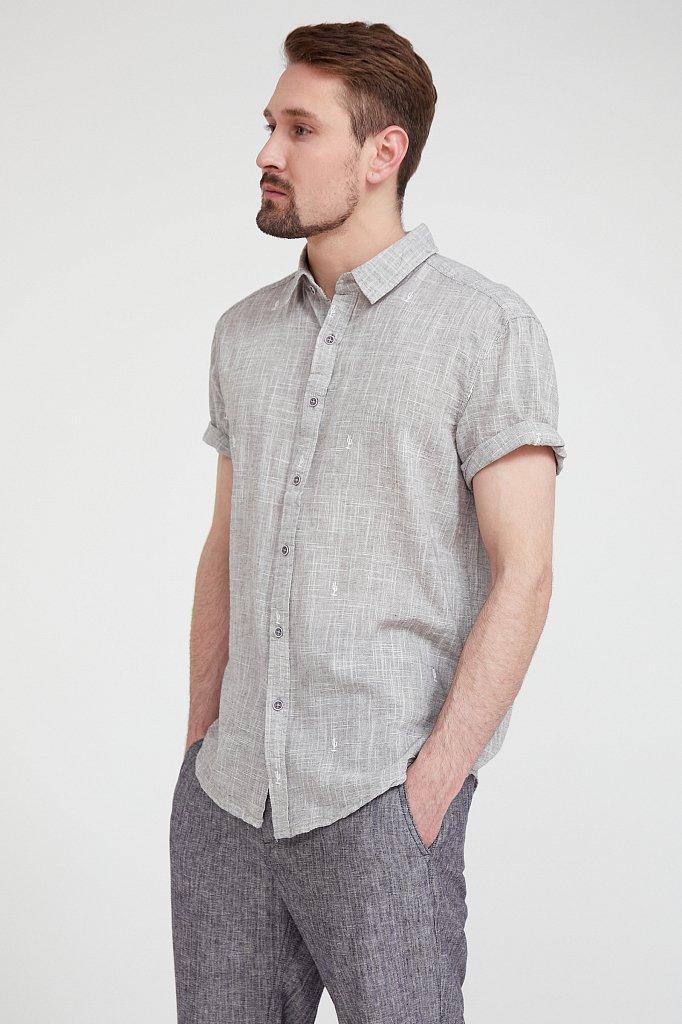 Рубашка мужская, Модель S20-24010, Фото №3