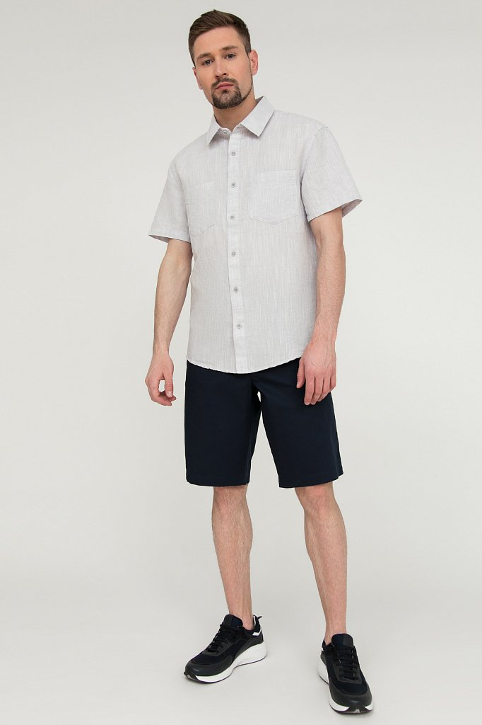 Рубашка мужская, Модель S20-22023, Фото №2