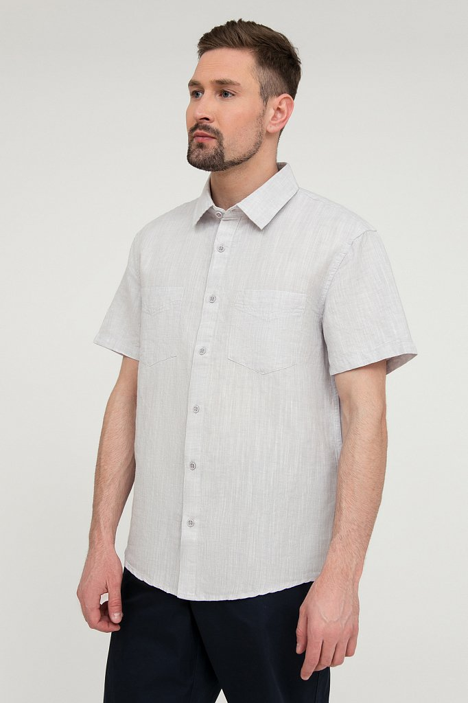 Рубашка мужская, Модель S20-22023, Фото №3