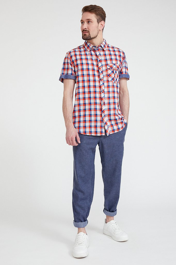 Рубашка мужская, Модель S20-22015, Фото №2