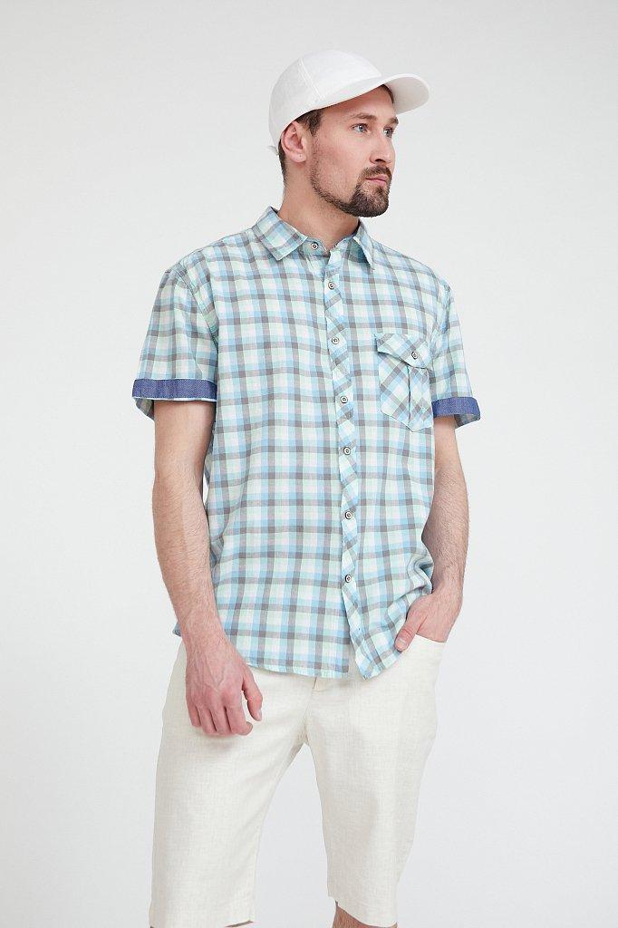 Рубашка мужская, Модель S20-22015, Фото №1