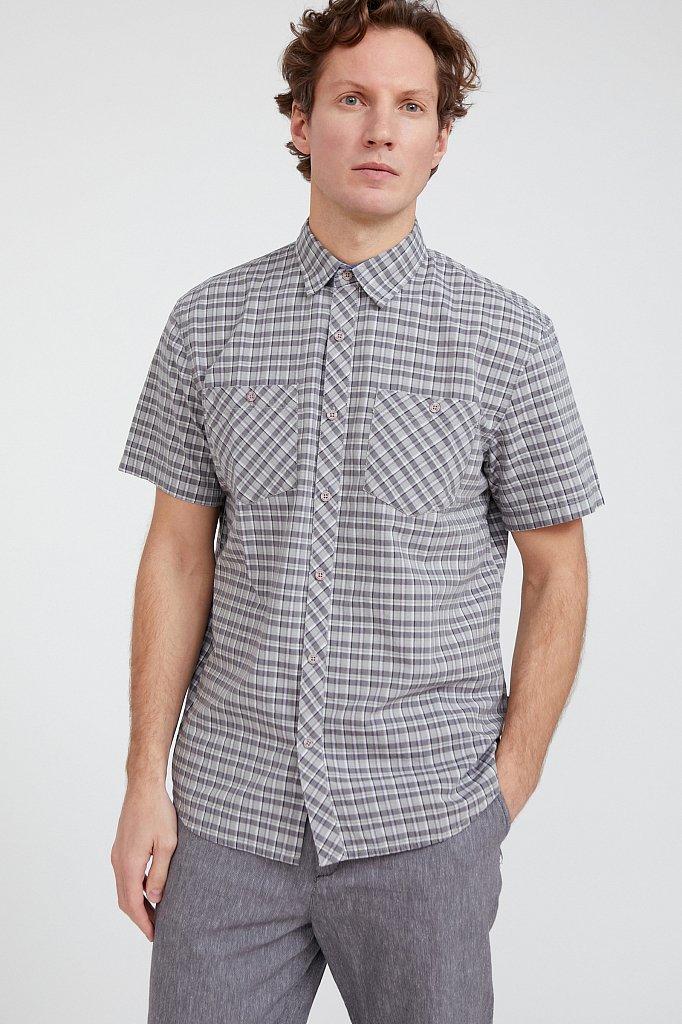 Рубашка мужская, Модель S20-22018, Фото №1