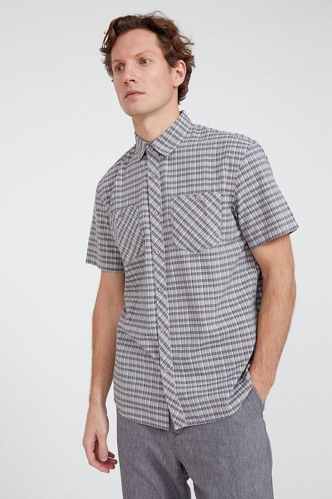 Рубашка мужская, Модель S20-22018, Фото №3