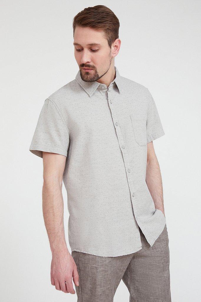 Рубашка мужская, Модель S20-42009, Фото №3