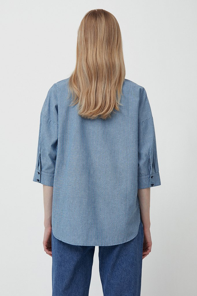 Блузка женская, Модель S21-11003, Фото №4