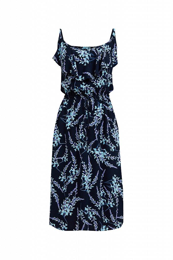 Сарафан с цветочным принтом, Модель S21-110105, Фото №7