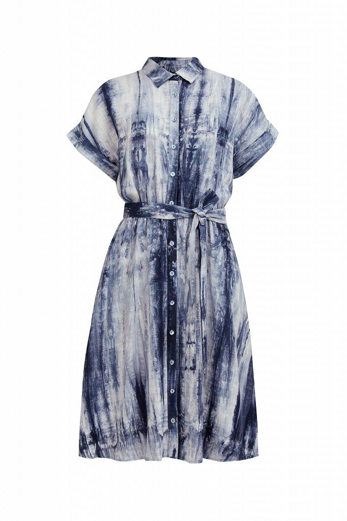 Платье из смесовой ткани, Модель S21-11023, Фото №7