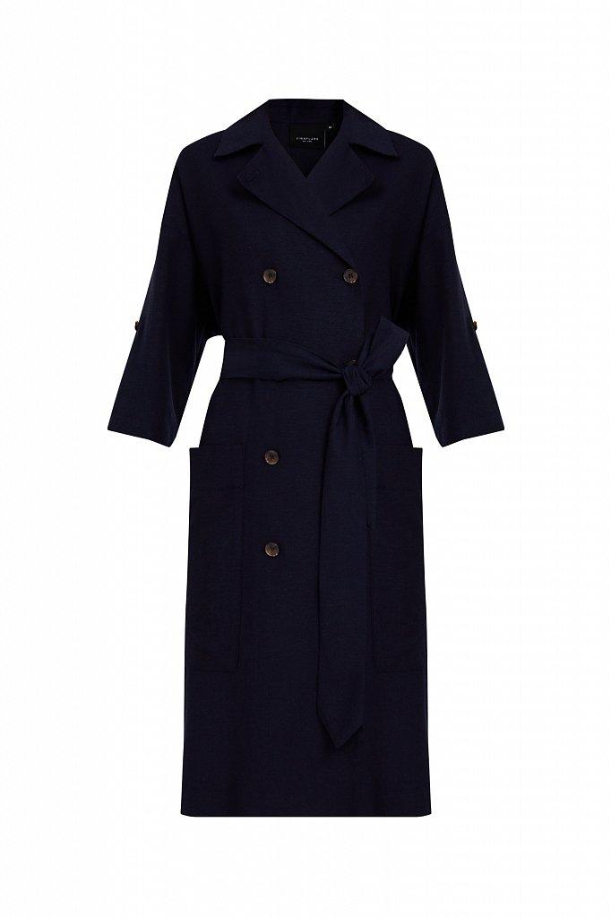 Платье-жакет с поясом, Модель S21-11063, Фото №6