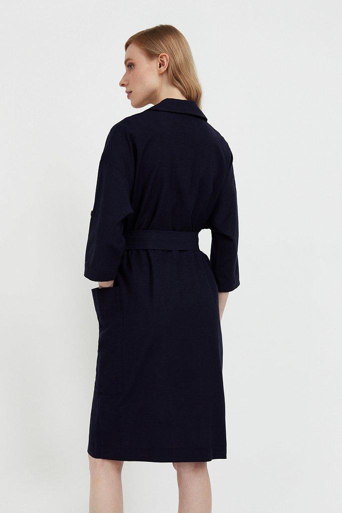 Платье-жакет с поясом, Модель S21-11063, Фото №4