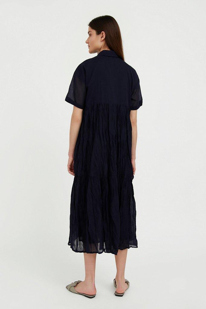 Платье миди из хлопка, Модель S21-11069, Фото №4