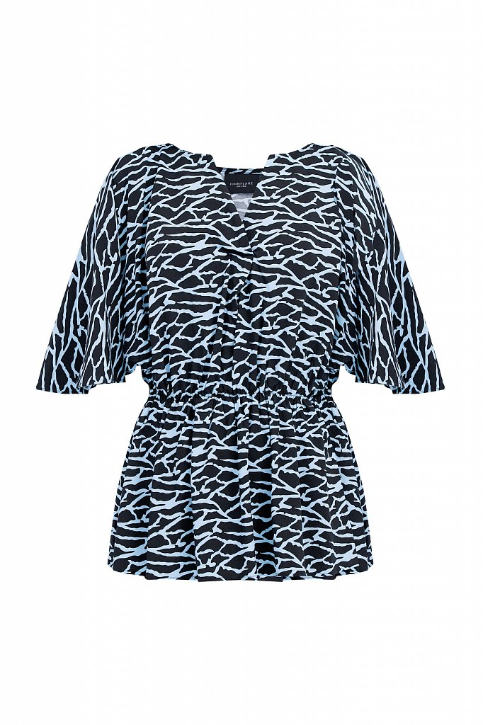 Блуза с принтом, Модель S21-14004, Фото №7