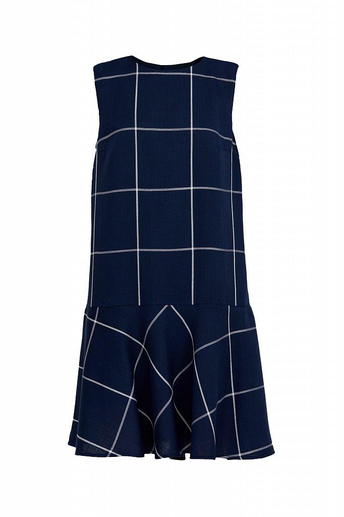 Платье с геометричным принтом, Модель S21-14049, Фото №7