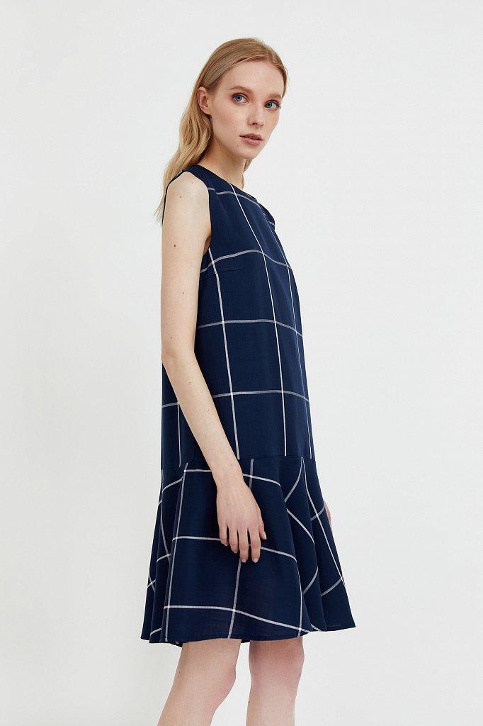 Платье с геометричным принтом, Модель S21-14049, Фото №3