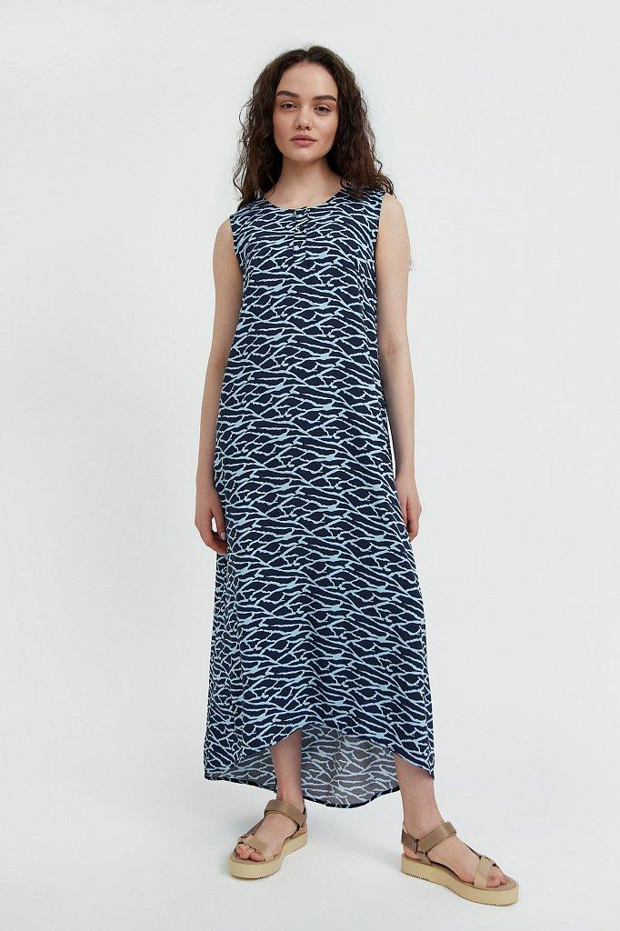 Асимметричное платье макси, Модель S21-14074, Фото №2