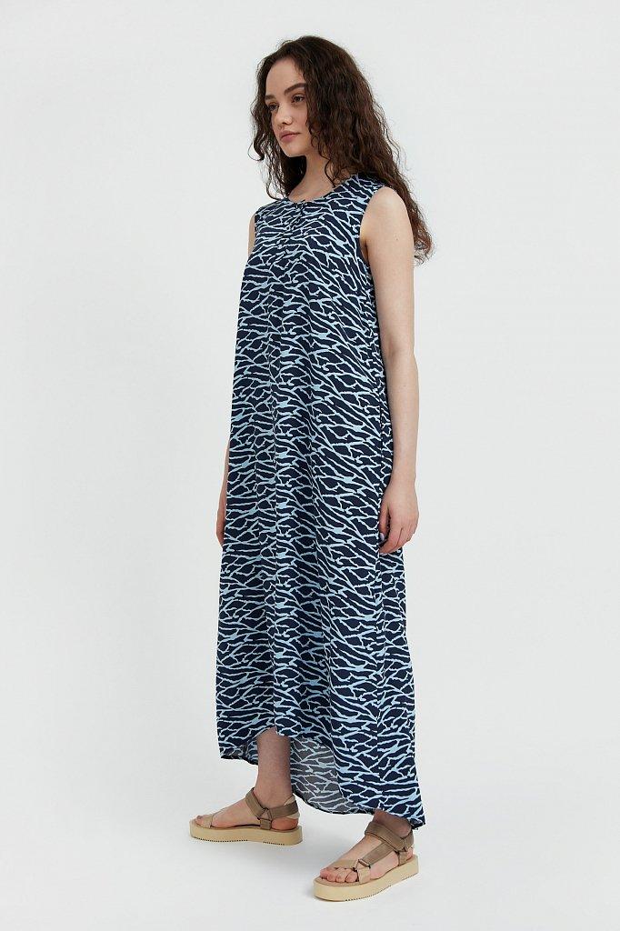 Асимметричное платье макси, Модель S21-14074, Фото №3