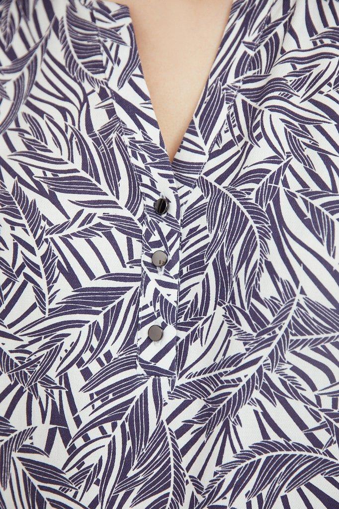 Платье-макси с растительным узором, Модель S21-14082, Фото №5