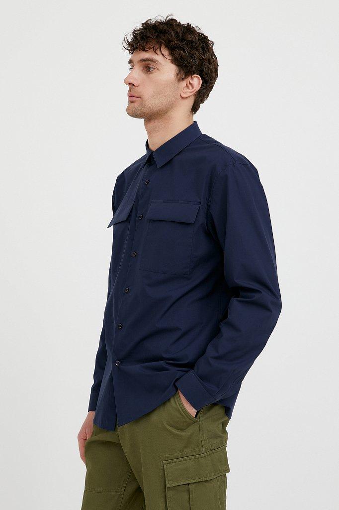 Рубашка мужская, Модель S21-21005, Фото №1