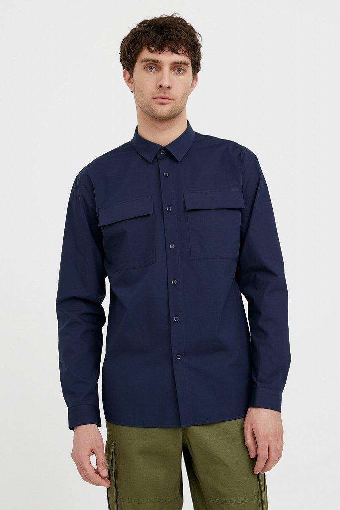 Рубашка мужская, Модель S21-21005, Фото №2