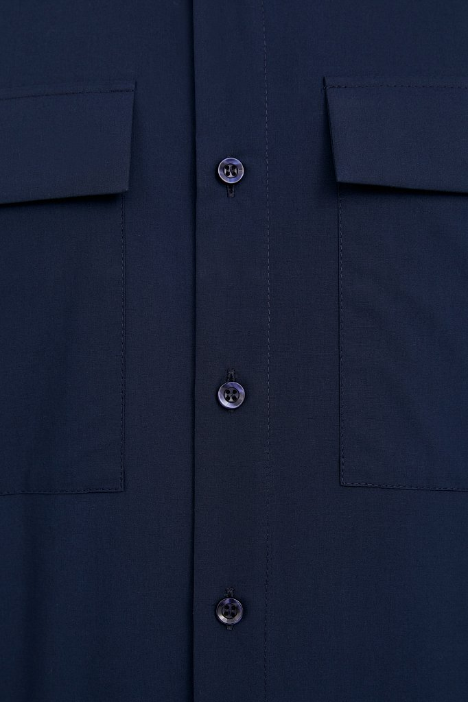 Рубашка мужская, Модель S21-21005, Фото №5