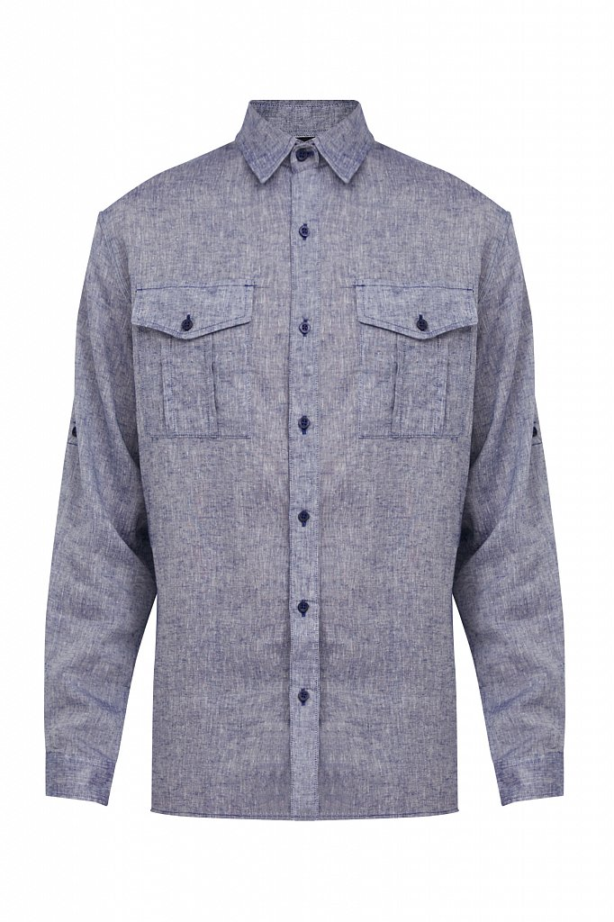 Рубашка мужская, Модель S21-21015, Фото №7