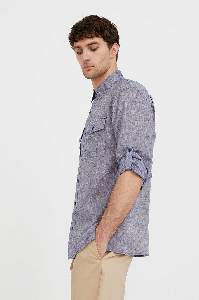 Рубашка мужская, Модель S21-21015, Фото №4
