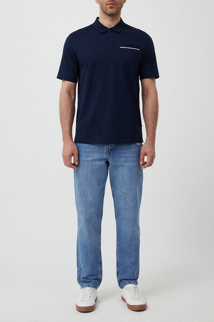 Поло мужское, Модель S21-21036, Фото №2