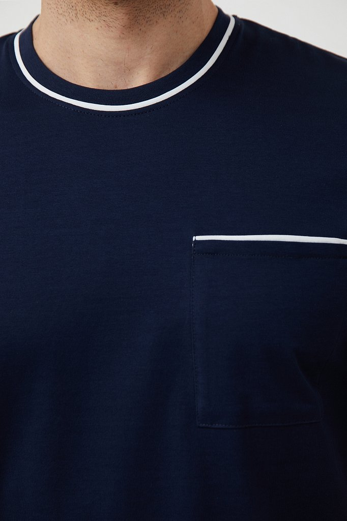 Футболка мужская, Модель S21-21037, Фото №5