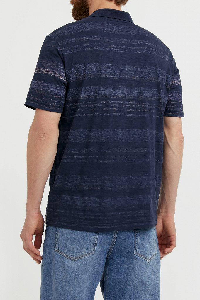 Поло мужское, Модель S21-22027, Фото №4