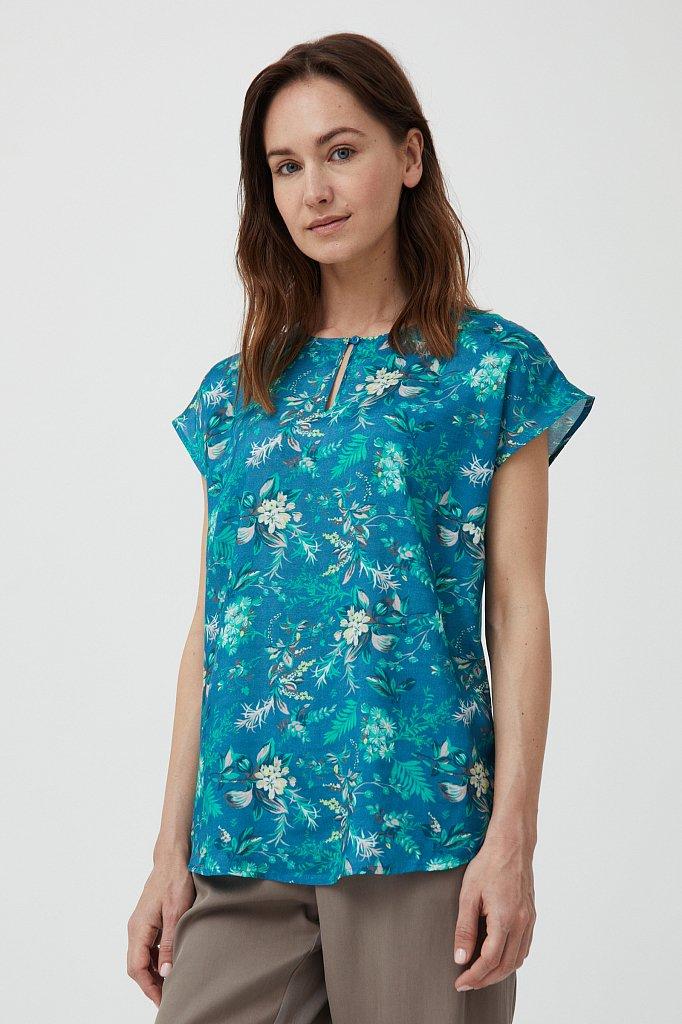 Блузка женская, Модель S21-12009, Фото №1