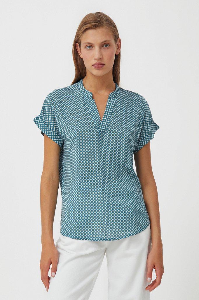 Блузка женская, Модель S21-14084, Фото №2