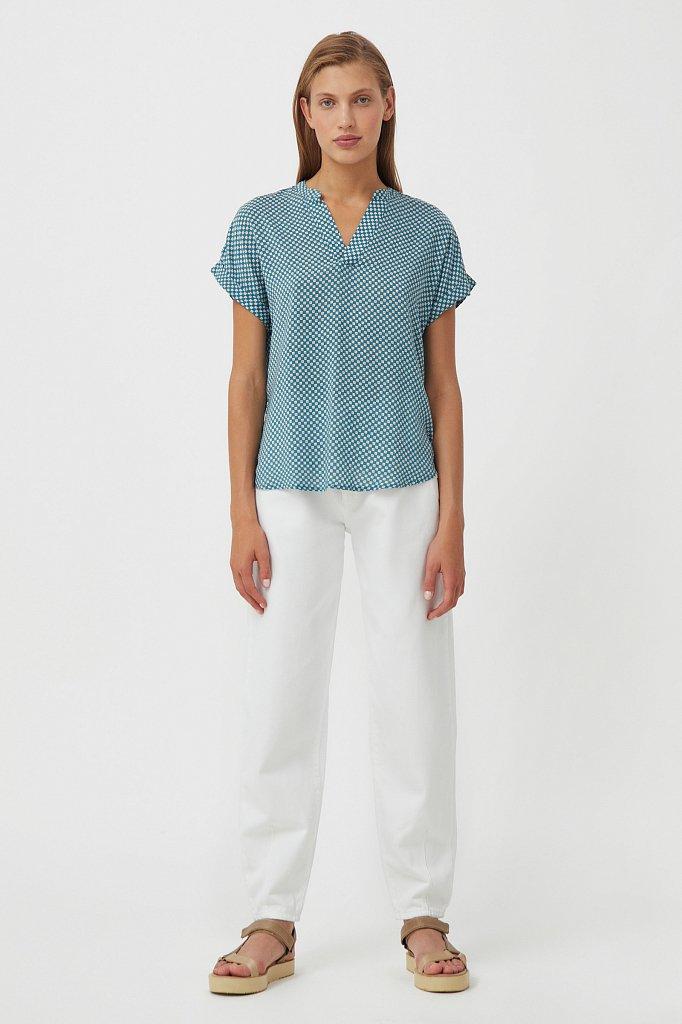 Блузка женская, Модель S21-14084, Фото №3