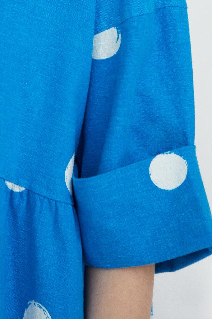 Платье-макси с крупным принтом, Модель S21-11042, Фото №5