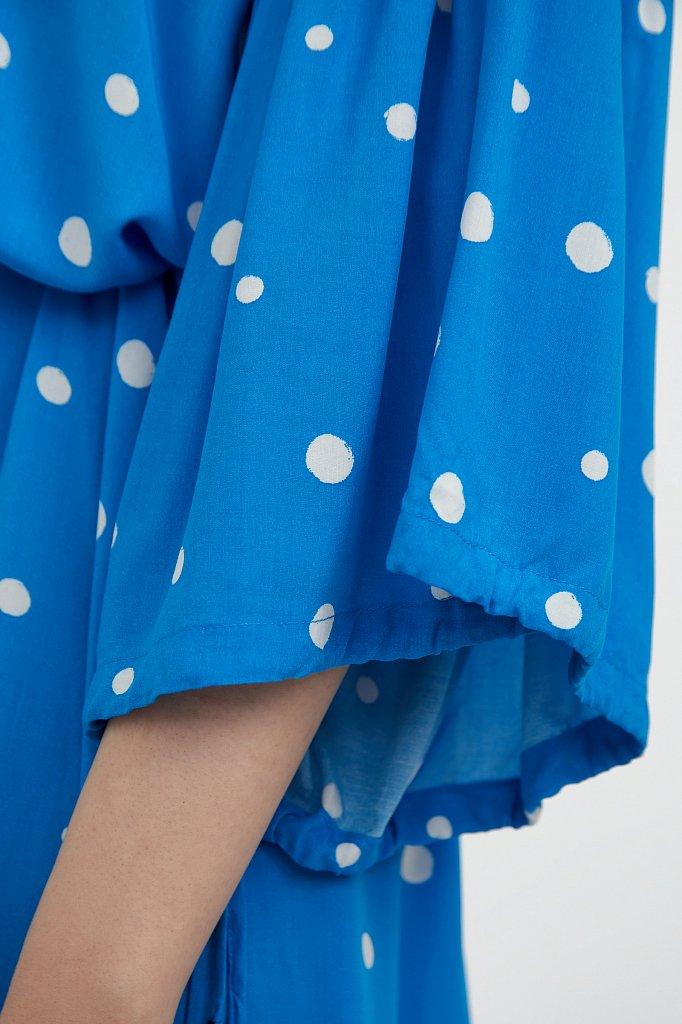 Платье миди в горох, Модель S21-11048, Фото №5