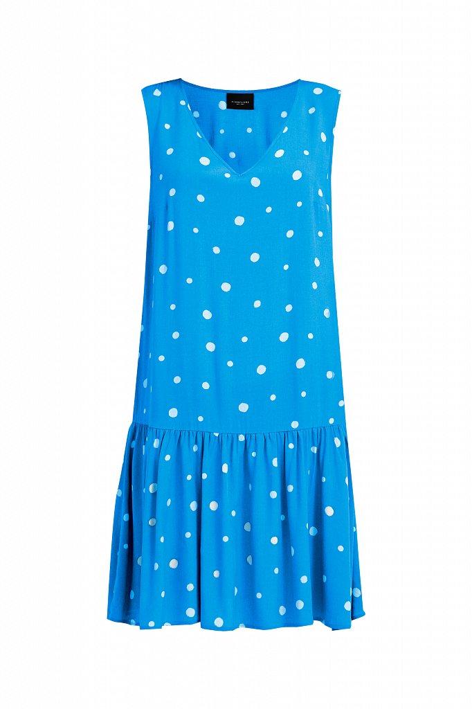 Короткое платье в горох, Модель S21-11096, Фото №7