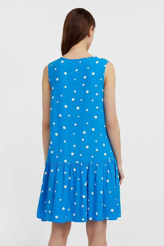 Короткое платье в горох, Модель S21-11096, Фото №4