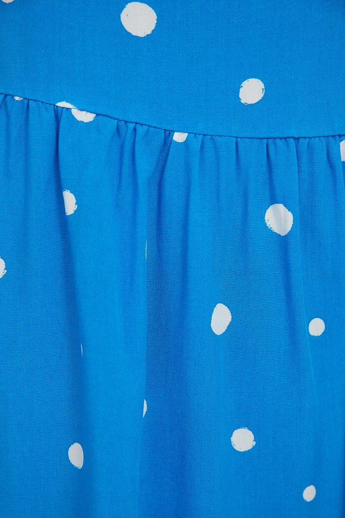 Короткое платье в горох, Модель S21-11096, Фото №5