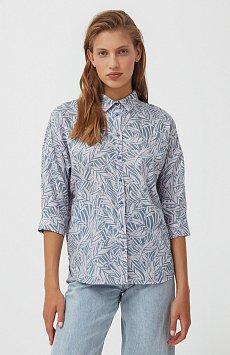 Рубашка с растительным орнаментом S21-14081