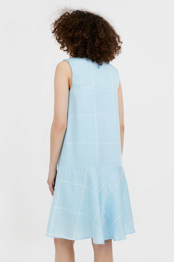 Платье с геометричным принтом, Модель S21-14049, Фото №4