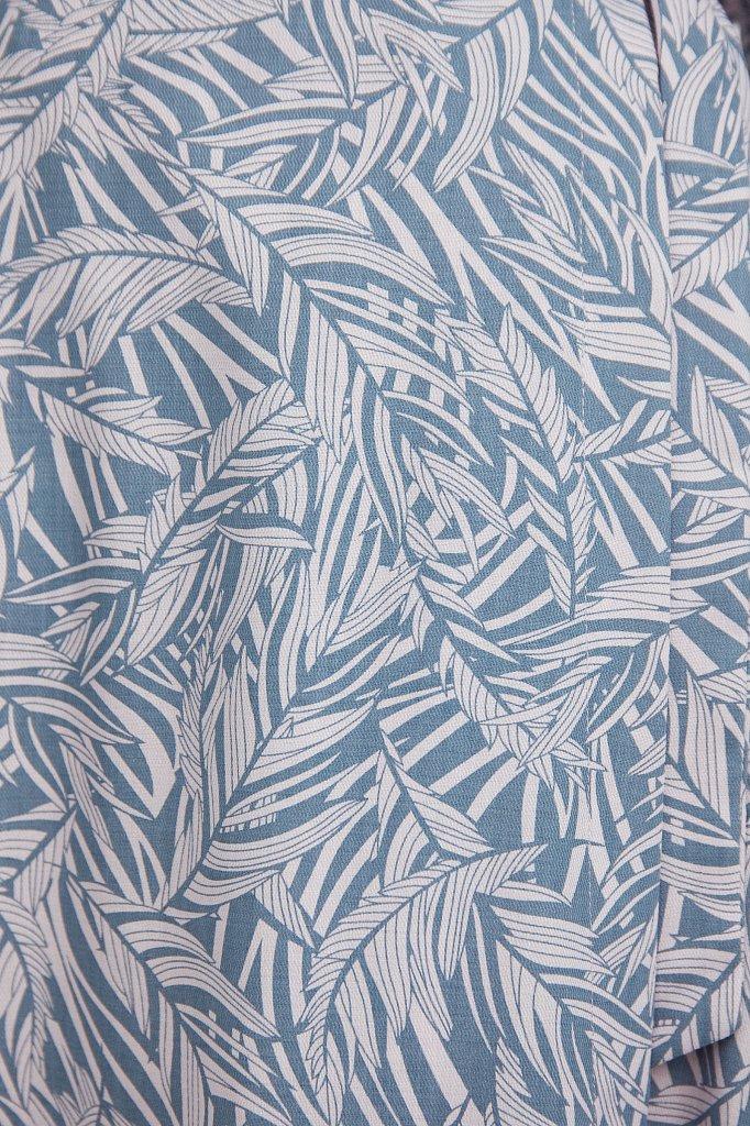Принтованная юбка с запахом, Модель S21-14083, Фото №5