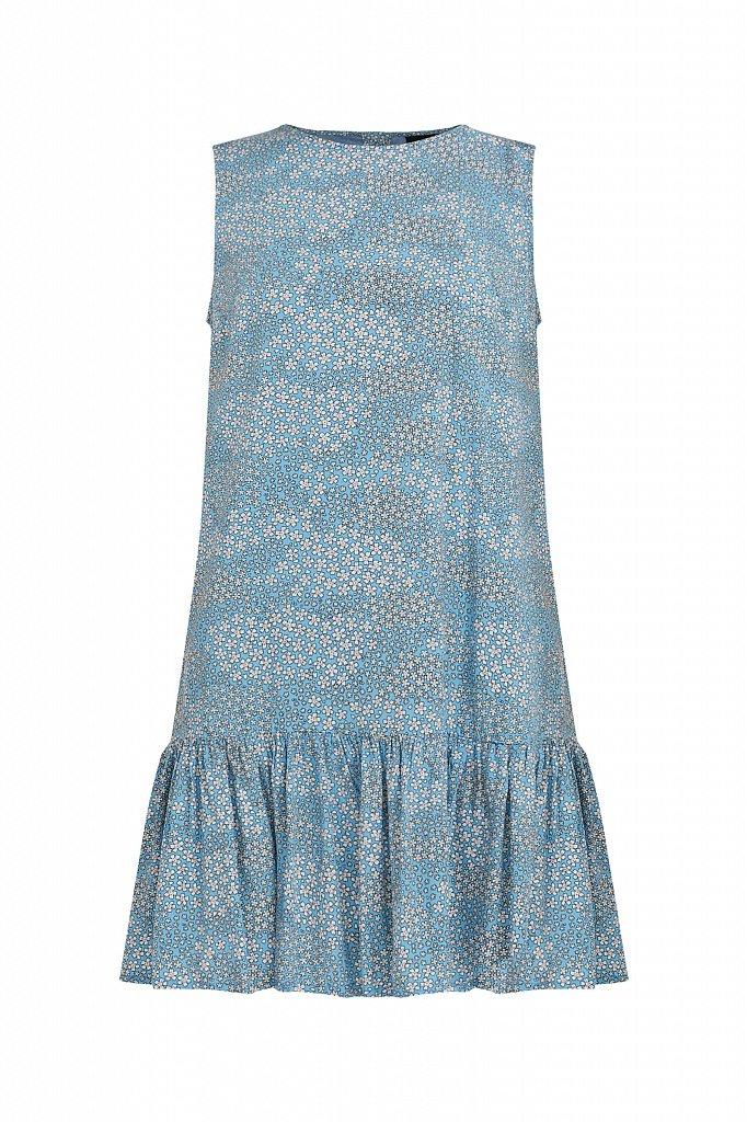 Платье мини с принтом, Модель S21-120100, Фото №7