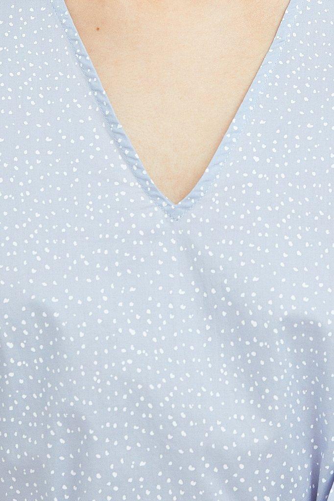 Платье асимметричного кроя с принтом, Модель S21-12044, Фото №5