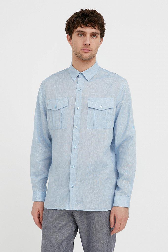Рубашка мужская, Модель S21-21015, Фото №2