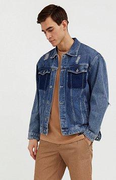 Джинсовая куртка из 100% хлопка S21-25005