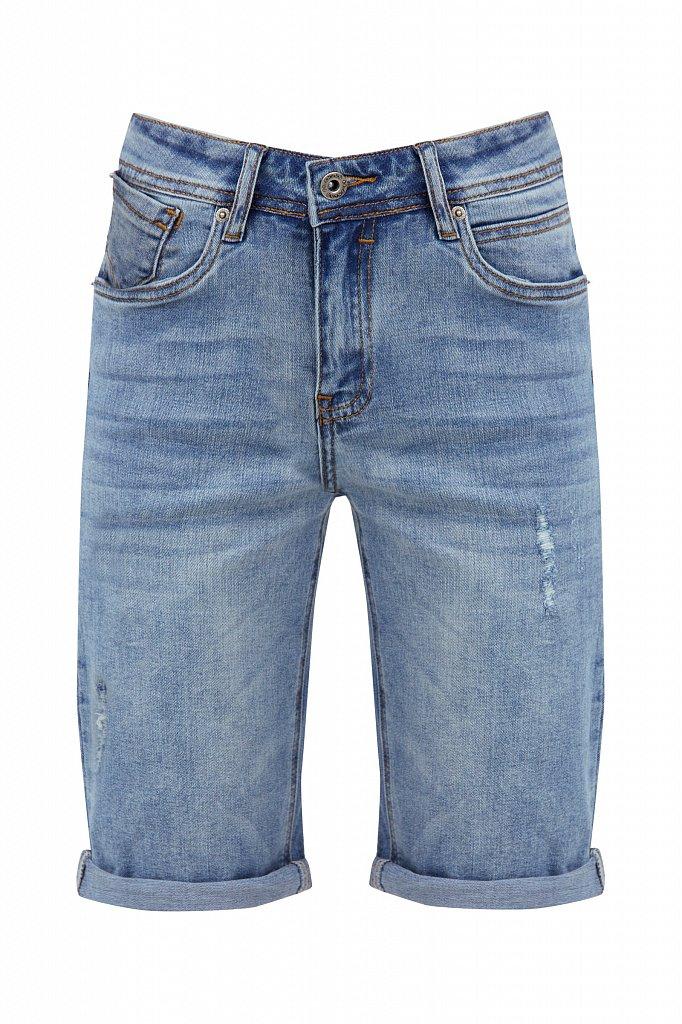 Шорты джинсовые женские, Модель S21-15018, Фото №6