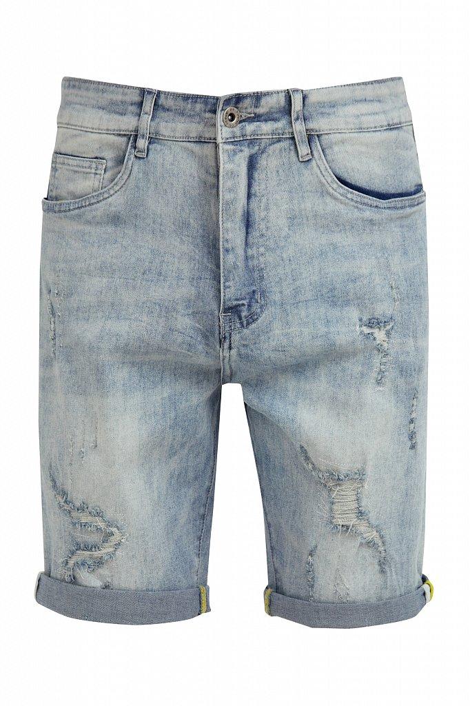 Шорты джинсовые мужские, Модель S21-25000, Фото №6