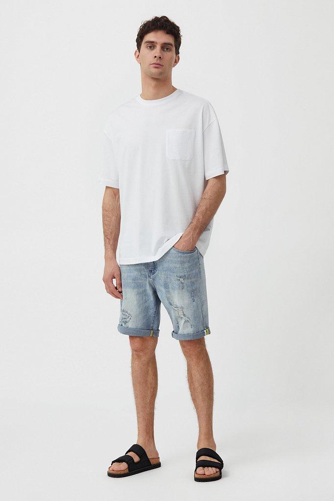 Шорты джинсовые мужские, Модель S21-25000, Фото №1