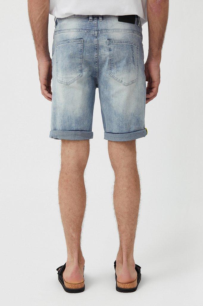 Шорты джинсовые мужские, Модель S21-25000, Фото №4