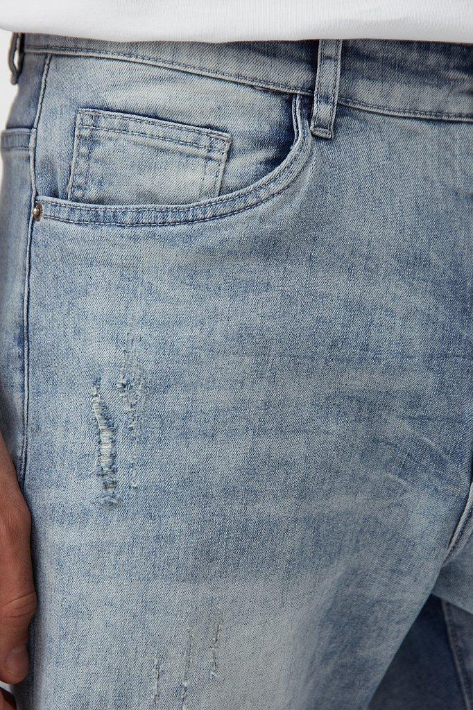 Шорты джинсовые мужские, Модель S21-25000, Фото №5